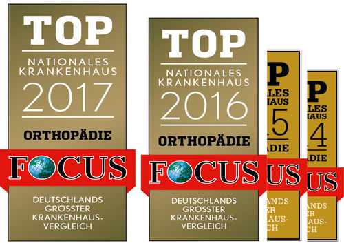 FOCUS  Siegel  Krankenhaus 2017